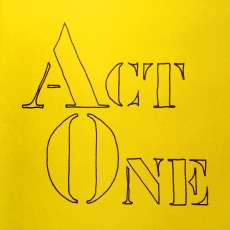 Act One, a published book of poems by George Murray